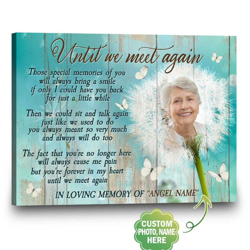 Custom Canvas, Photo To Canvas, Forever In My Heart   Gift4uCanvas